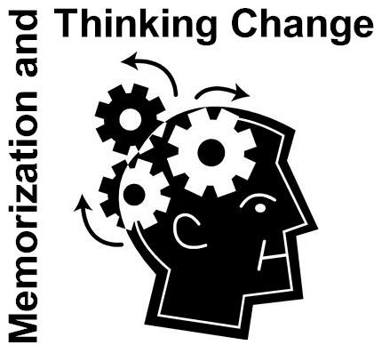 memorization and thinking change
